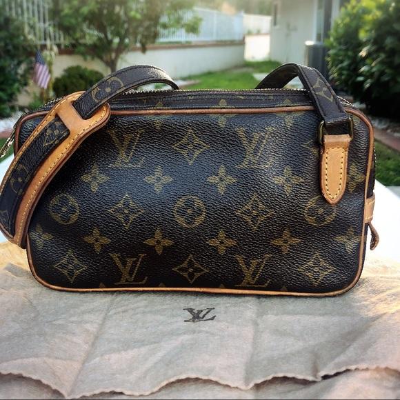 3a51ea42896b Louis Vuitton marly bandouliere monogram crossbody